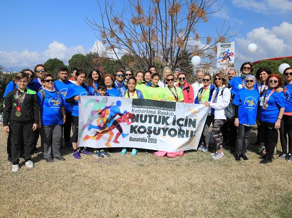TÜRGÖK Antalya'da Görmeyenlere Kabartma Baskılı NUTUK için koştu.. Ayrıntılar için Tıklayınız