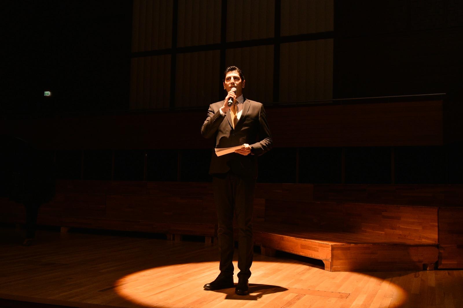 Fazıl Say Konseri - Sunucu Mehmet Ali Deniz