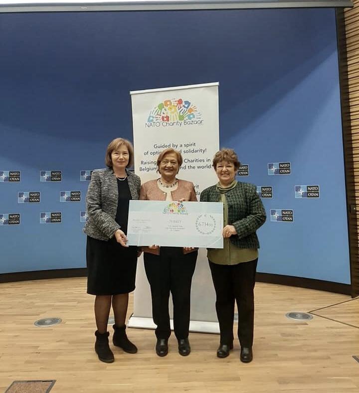 NATO Charity Team Hibe Programında TÜRGÖK. Ayrıntılar için Tıklayınız