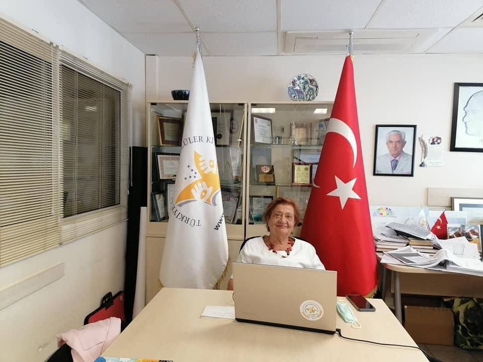 TÜRGÖK Başkanı Tülay YAZGAN